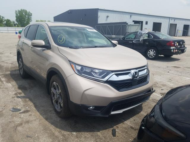 Salvage cars for sale from Copart Dyer, IN: 2019 Honda CR-V EX