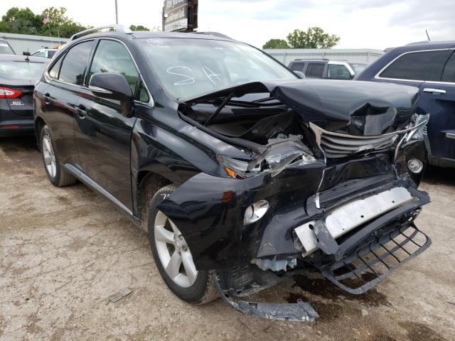Salvage cars for sale from Copart Wichita, KS: 2013 Lexus RX 350 Base