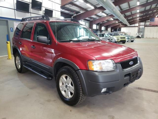 Salvage cars for sale from Copart East Granby, CT: 2003 Ford Escape XLT
