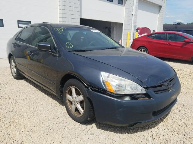Salvage cars for sale from Copart Blaine, MN: 2004 Honda Accord EX