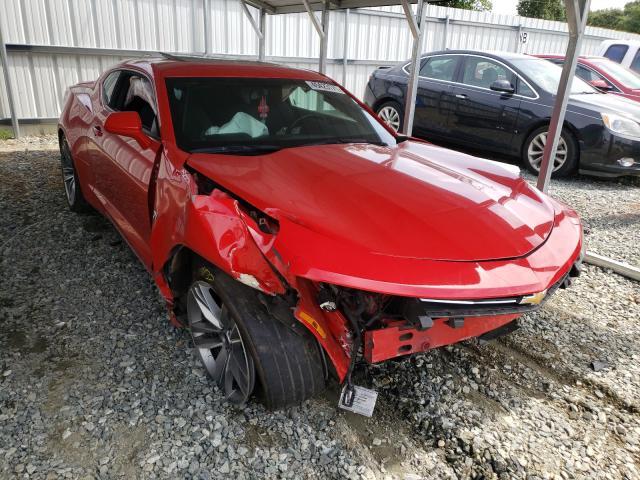 Vehiculos salvage en venta de Copart Mebane, NC: 2017 Chevrolet Camaro LT