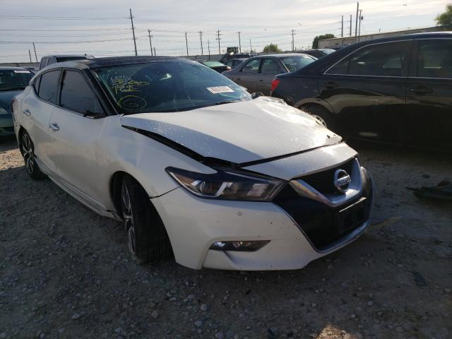 Salvage cars for sale from Copart Haslet, TX: 2017 Nissan Maxima 3.5