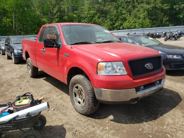 Salvage 2005 FORD F150 - Small image. Lot 45221571