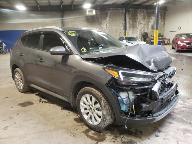 Salvage cars for sale from Copart Chalfont, PA: 2020 Hyundai Tucson Limited