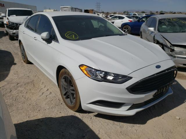 Salvage cars for sale from Copart Tucson, AZ: 2018 Ford Fusion SE