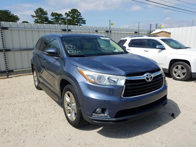 Salvage cars for sale from Copart Newton, AL: 2016 Toyota Highlander