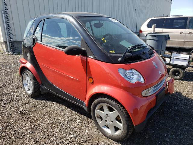 Smart salvage cars for sale: 2005 Smart Fortwo