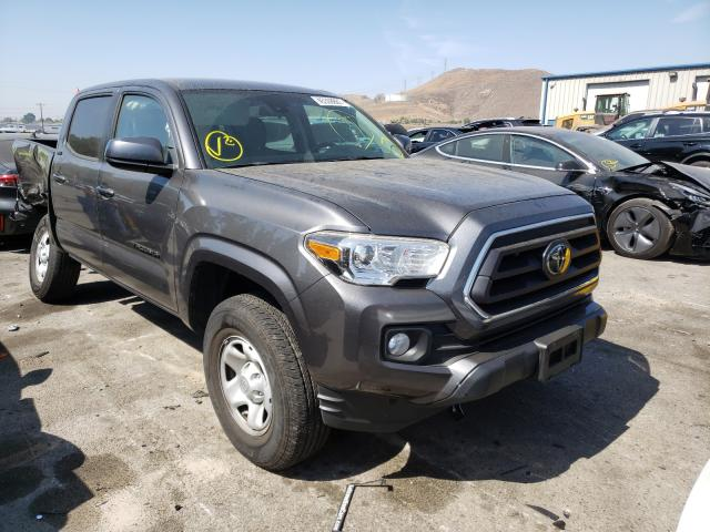 Salvage cars for sale from Copart Colton, CA: 2020 Toyota Tacoma DOU