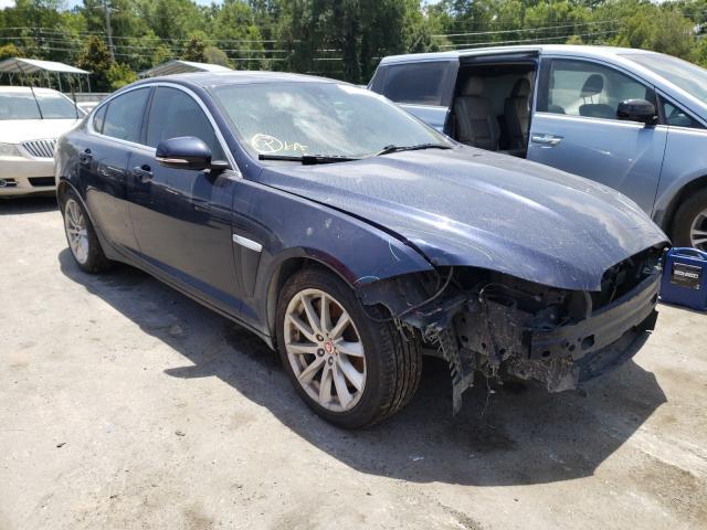 Vehiculos salvage en venta de Copart Savannah, GA: 2015 Jaguar XF 2.0T PR