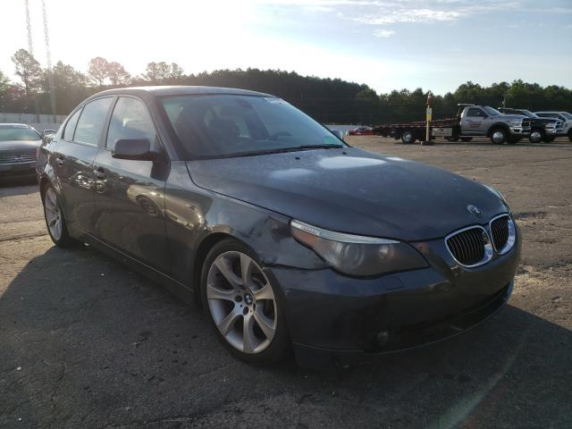Salvage cars for sale from Copart Loganville, GA: 2004 BMW 545 I