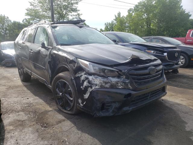 Salvage cars for sale at Marlboro, NY auction: 2021 Subaru Outback TO