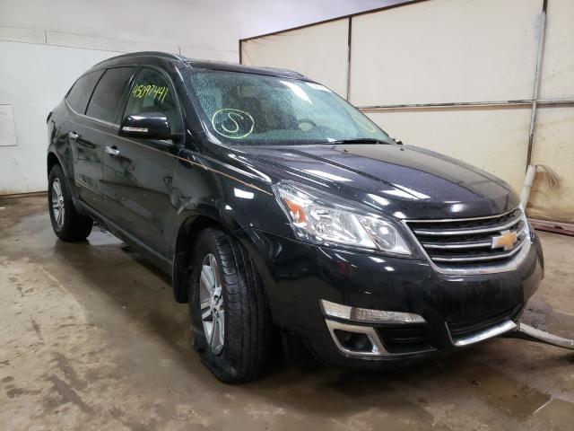 Salvage cars for sale from Copart Davison, MI: 2017 Chevrolet Traverse L