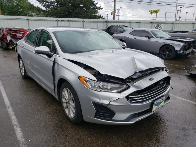 Salvage cars for sale from Copart Moraine, OH: 2019 Ford Fusion SE