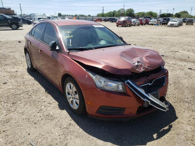 Salvage cars for sale at Nampa, ID auction: 2013 Chevrolet Cruze LS