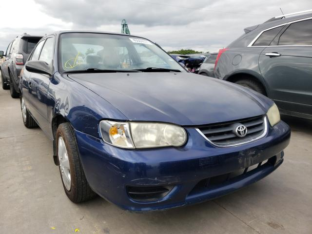 Salvage cars for sale from Copart Grand Prairie, TX: 2002 Toyota Corolla CE