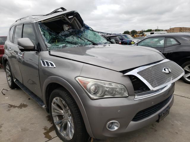 Vehiculos salvage en venta de Copart Grand Prairie, TX: 2013 Infiniti QX56