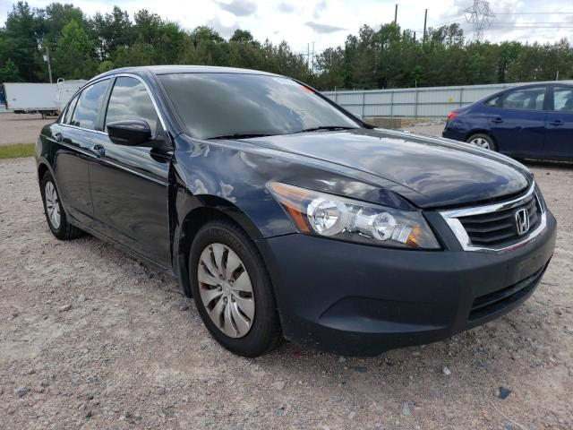 Salvage cars for sale from Copart Charles City, VA: 2009 Honda Accord LX