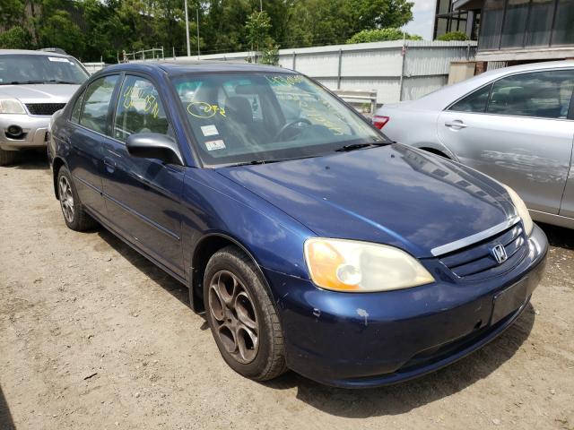 2001 Honda Civic EX en venta en North Billerica, MA