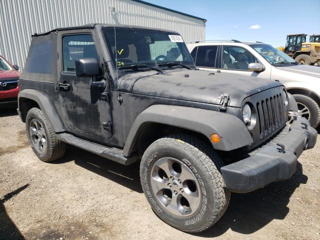 Salvage cars for sale from Copart Rocky View County, AB: 2013 Jeep Wrangler