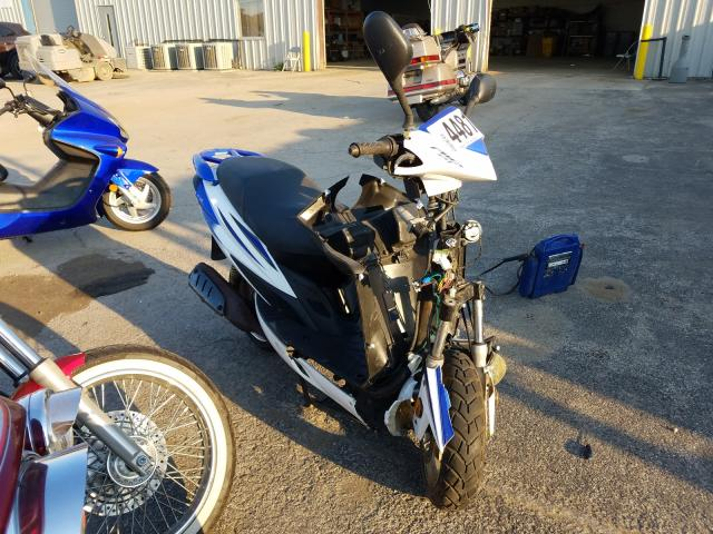 Salvage motorcycles for sale at Elgin, IL auction: 2015 Taizhouzng Scooter