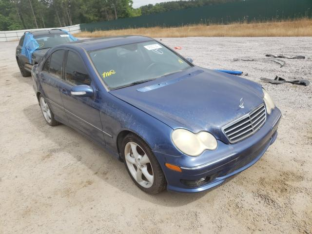 Salvage cars for sale from Copart Harleyville, SC: 2005 Mercedes-Benz C 230K Sport