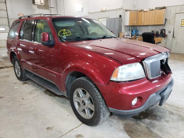 Lincoln Aviator salvage cars for sale: 2003 Lincoln Aviator