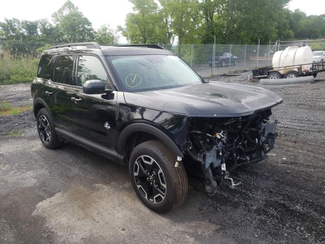 Salvage cars for sale from Copart Marlboro, NY: 2021 Ford Bronco Sport