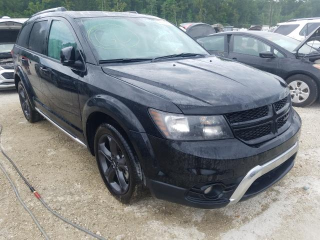 Salvage cars for sale from Copart Greenwell Springs, LA: 2019 Dodge Journey CR