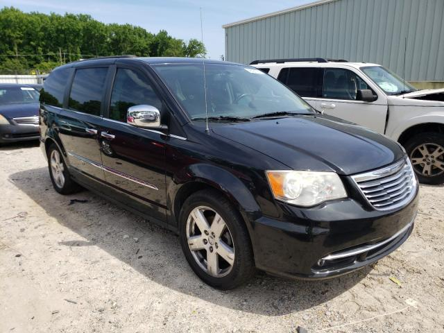 Salvage cars for sale from Copart Hampton, VA: 2013 Chrysler Town & Country