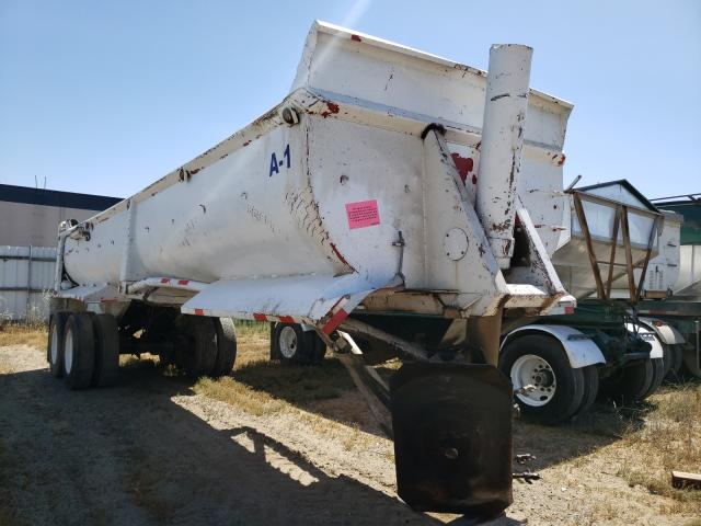Gall salvage cars for sale: 1985 Gall Dumptraile