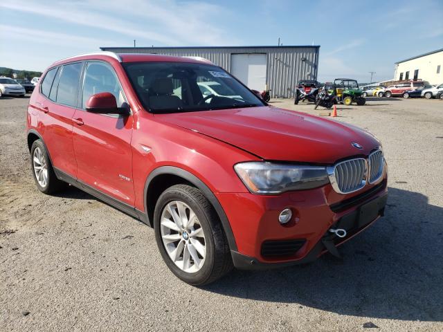 BMW X3 salvage cars for sale: 2016 BMW X3