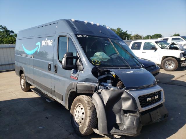Vehiculos salvage en venta de Copart Wilmer, TX: 2019 Dodge RAM Promaster