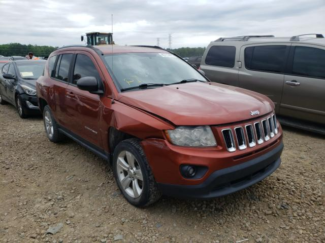 Salvage cars for sale from Copart Memphis, TN: 2012 Jeep Compass LA