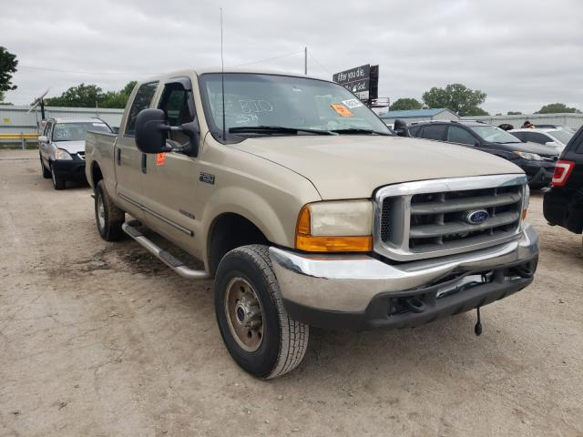Salvage cars for sale from Copart Wichita, KS: 2000 Ford F250 Super