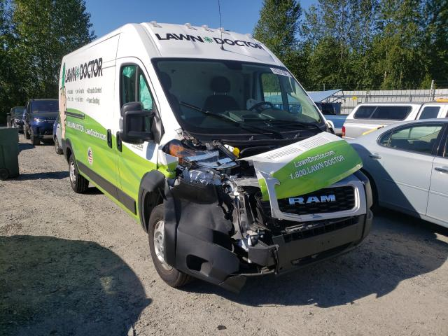 Salvage cars for sale from Copart Arlington, WA: 2020 Dodge RAM Promaster