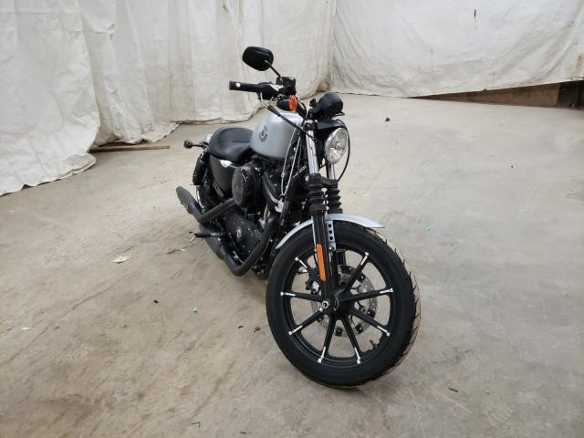 Salvage motorcycles for sale at Madisonville, TN auction: 2020 Harley-Davidson XL883 N