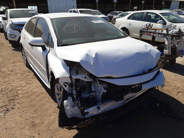 Salvage cars for sale from Copart Phoenix, AZ: 2021 Toyota Corolla LE