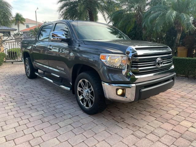 Salvage cars for sale from Copart Opa Locka, FL: 2016 Toyota Tundra CRE