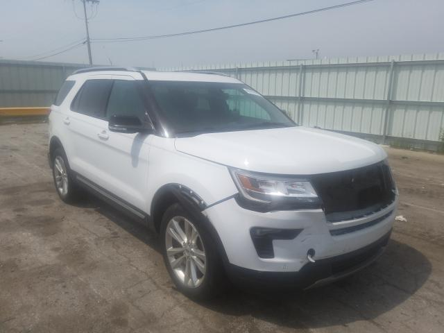 Salvage cars for sale from Copart Dyer, IN: 2018 Ford Explorer X