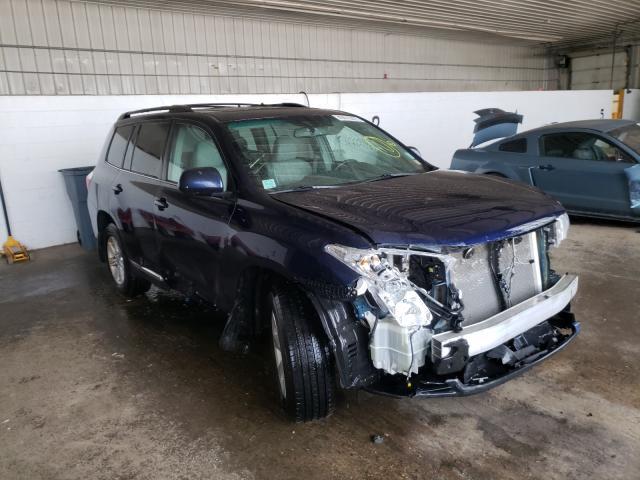 2012 Toyota Highlander en venta en Candia, NH