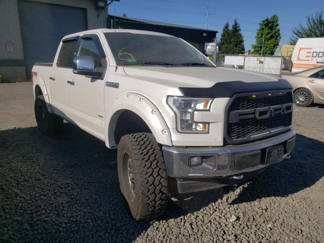 Salvage cars for sale from Copart Eugene, OR: 2017 Ford F150 Super