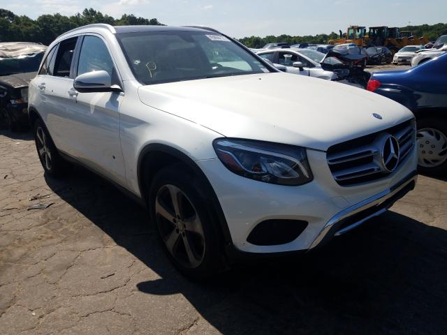 Salvage cars for sale from Copart Austell, GA: 2017 Mercedes-Benz GLC 300 4M