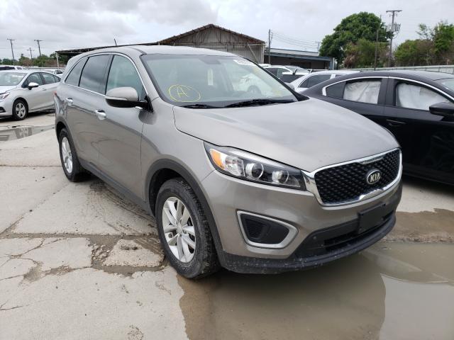 Salvage cars for sale from Copart Corpus Christi, TX: 2017 KIA Sorento LX