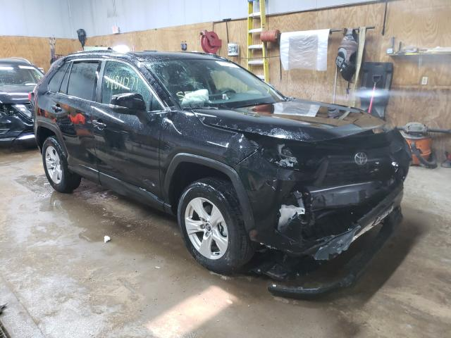 Salvage cars for sale from Copart Kincheloe, MI: 2020 Toyota Rav4 XLE