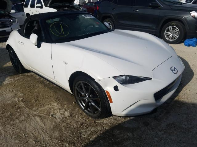 Salvage cars for sale from Copart Greenwell Springs, LA: 2017 Mazda MX-5 Miata
