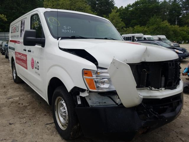 Salvage trucks for sale at Mendon, MA auction: 2018 Nissan NV 1500 S
