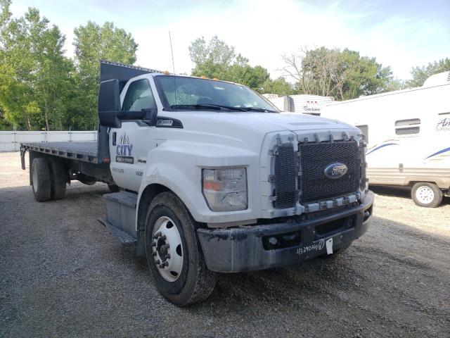 Vehiculos salvage en venta de Copart Des Moines, IA: 2019 Ford F650 Super