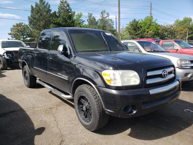 Salvage cars for sale from Copart Denver, CO: 2006 Toyota Tundra DOU