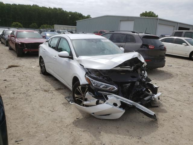 Salvage cars for sale from Copart Hampton, VA: 2020 Nissan Sentra SV