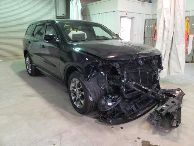 Salvage cars for sale from Copart Leroy, NY: 2019 Dodge Durango GT